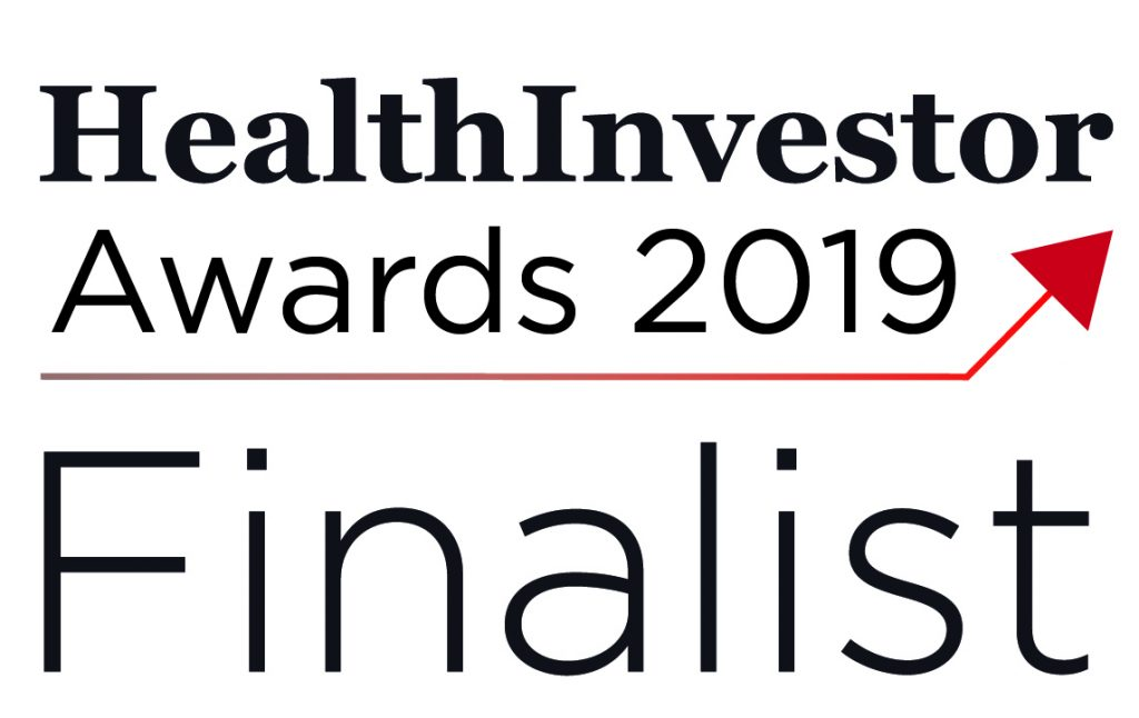 Health Investor Awards Finalist 2019
